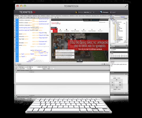 Διαδίκτυο - Κατασκευή Ιστοσελίδων TEXNITES24
