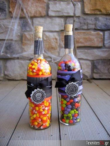 wine bottle γυάλινα μπουκαλια diy texnites 24 (10)
