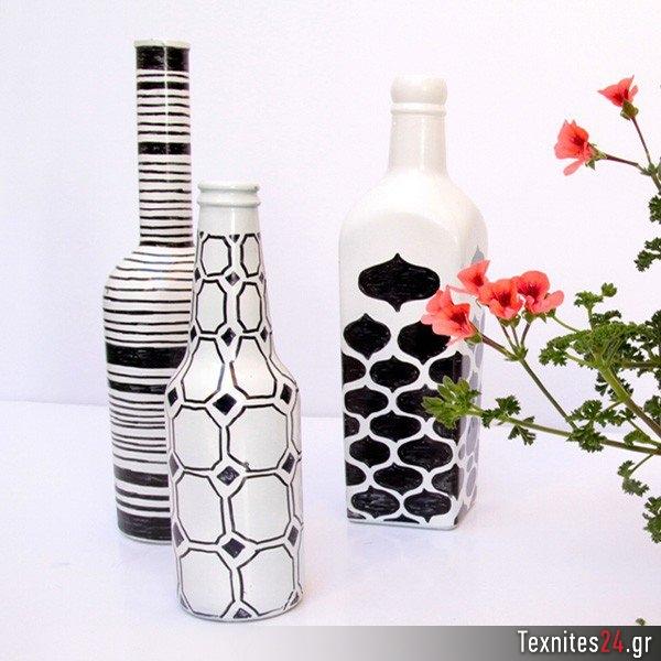 wine bottle γυάλινα μπουκαλια diy texnites 24 (23)