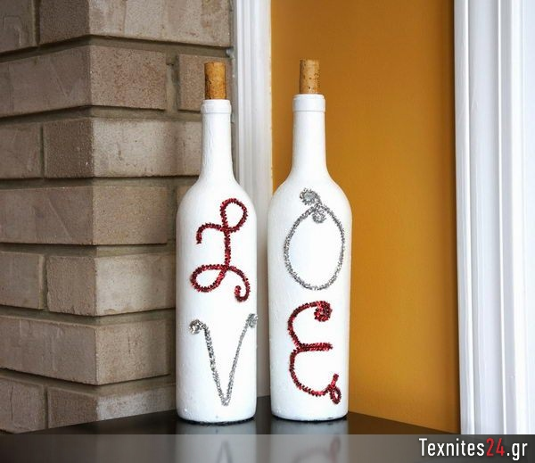 wine bottle γυάλινα μπουκαλια diy texnites 24 (28)