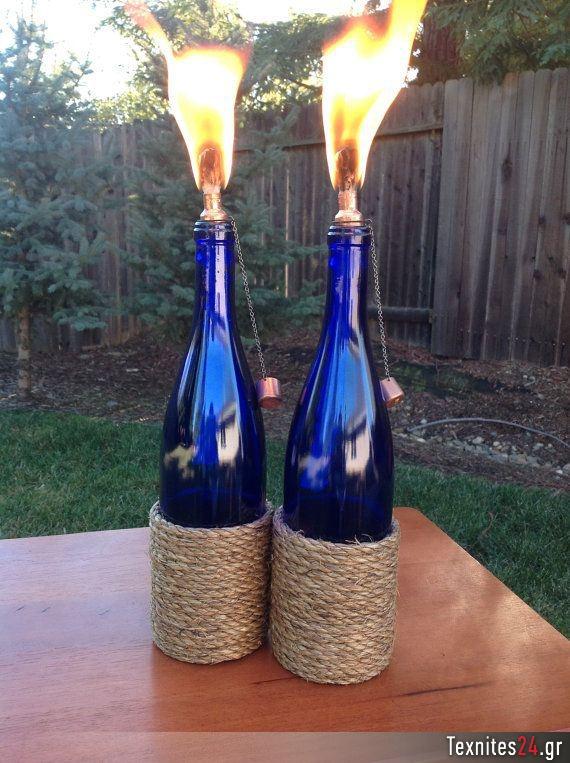 wine bottle γυάλινα μπουκαλια diy texnites 24 (45)