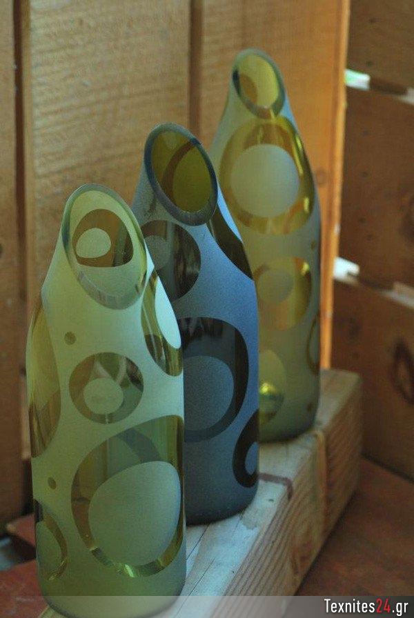 wine bottle γυάλινα μπουκαλια diy texnites 24 (51)
