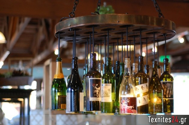 wine bottle γυάλινα μπουκαλια diy texnites 24 (55)