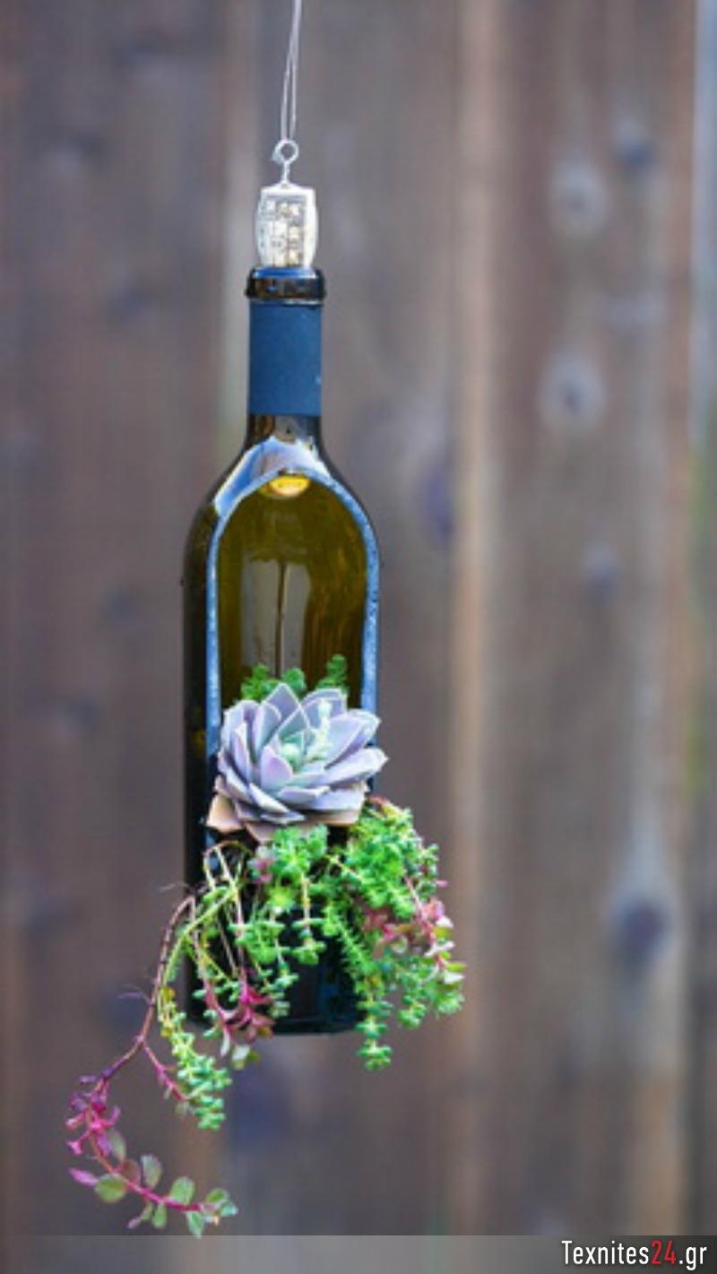 wine bottle γυάλινα μπουκαλια diy texnites 24 (8)