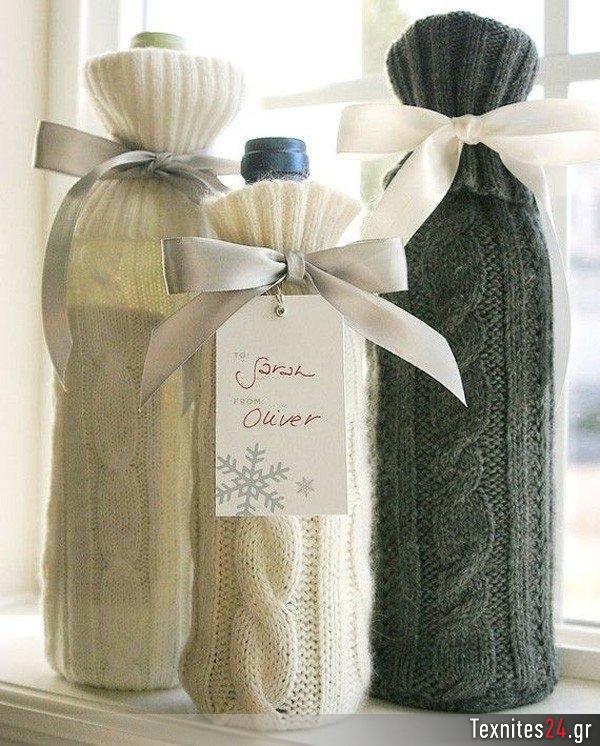 wine bottle γυάλινα μπουκαλια diy texnites 24 (9)